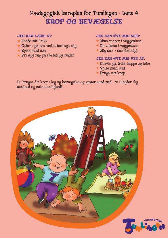 pædagogiske læreplaner i vuggestue
