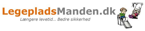 Legepladsmanden logo